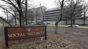 In this Jan. 11, 2013 file photo shows the Social Security Administration's main campus in Woodlawn, Md.