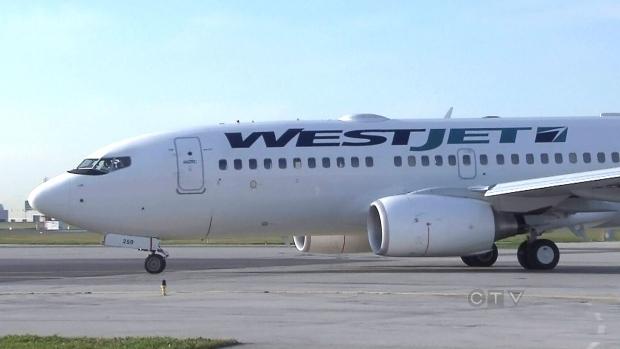 WestJet plane
