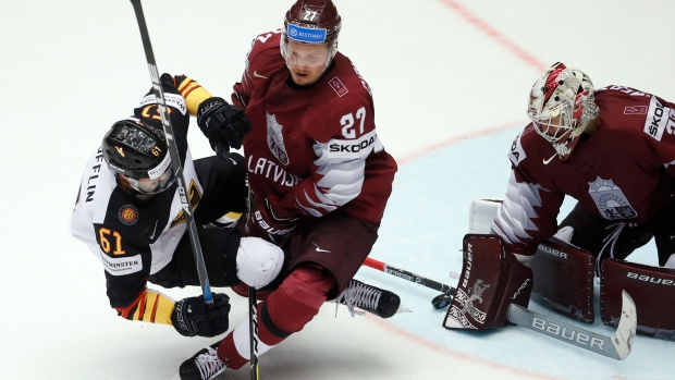 HERNING, Denmark | Sweden gets OT win over Slovakia, Latvia beats Germany