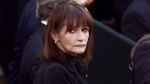 "Actress Margot Kidder arrives at Notre-Dame Basillica in Montreal, Oct. 3, 2000, to attend a state funeral for Pierre Trudeau. ""Superman"" actress Margot Kidder, born in Yellowknife, N.W.T., has died at age 69, a Montana funeral home confirms. THE CANADIAN PRESS/ Adrian Wyld"