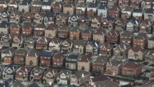 Canada's home sales down to lowest level in five years