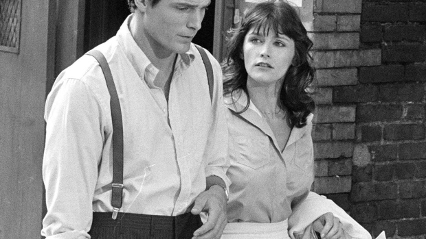 Christopher Reeve and Margot Kidder