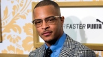 In this Jan. 27, 2018 file photo, T.I. attends the Roc Nation pre-Grammy brunch in New York. Police say rapper T.I. has been arrested for disorderly conduct and public drunkenness as he tried to enter his gated community outside Atlanta. Henry County Police Deputy Mike Ireland said T.I. was arrested around 4:30 a.m. Wednesday, May 16, after he got into an argument with a security guard. Media reports say the rapper, whose real name is Clifford Harris, lost his key and the guard wouldn't let him into the community. (Photo by Charles Sykes/Invision/AP, File)
