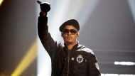 In this Sept. 17, 2016, file photo, T.I. performs during the BET Hip Hop Awards in Atlanta. (AP Photo/David Goldman, File)