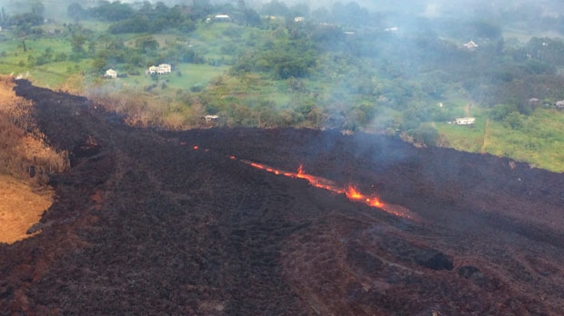 'Explosive eruption' at Kilauea volcano in Hawaii