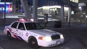 Police are investigating after one person was stabbed near Yonge and Gould streets.
