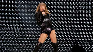 Taylor Swift performs onstage during the Reputation Stadium Tour at the Rose Bowl on Friday, May 18, 2018, in Pasadena, Calif. Step aside Ontario lawmakers, because Taylor Swift is giving you a lesson in how to deflect concert scalpers. THE CANADIAN PRESS/ Photo by Willy Sanjuan/Invision/AP