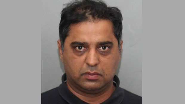Khalid Mahmood, 45, is seen in this photo provided by Toronto police.