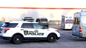 Halton Regional Police are investigating the death of a toddler who was found inside a vehicle in Burlington.