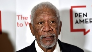 FILE - In this May 22, 2018 file photo, actor Morgan Freeman attends the 2018 PEN Literary Gala in New York. (Photo by Evan Agostini/Invision/AP, File)
