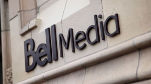 The logo for Bell Media, owned by BCE Inc., is displayed on a Toronto building in a handout photo. Bell Media has acquired the exclusive Canadian rights to HBO's classic catalogue of television programming. THE CANADIAN PRESS/HO, Bell Media - Darren Goldstein