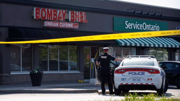 One of 2 Ontario restaurant bombing suspects may be female