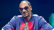 Rapper Snoop Dogg speaks at the C2 business conference in Montreal on Friday, May 25, 2018. THE CANADIAN PRESS/Ryan Remiorz