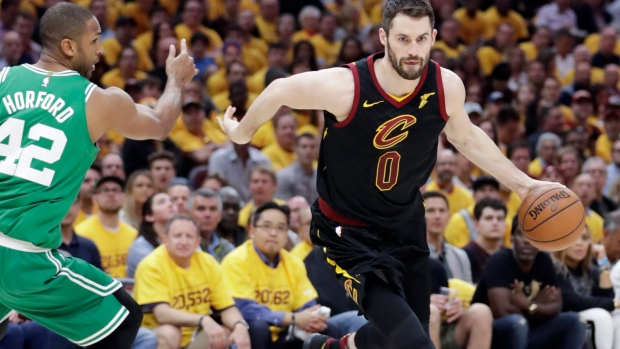 Kevin Love held out of NBA Finals Media Day