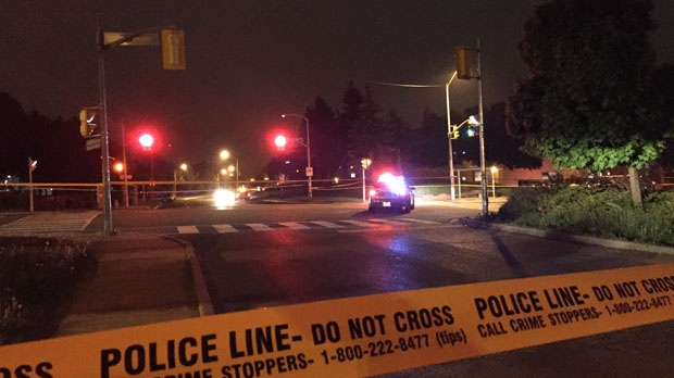 One male is dead following a shooting in Malvern early Monday morning. (Mike Nguyen/ CP24)