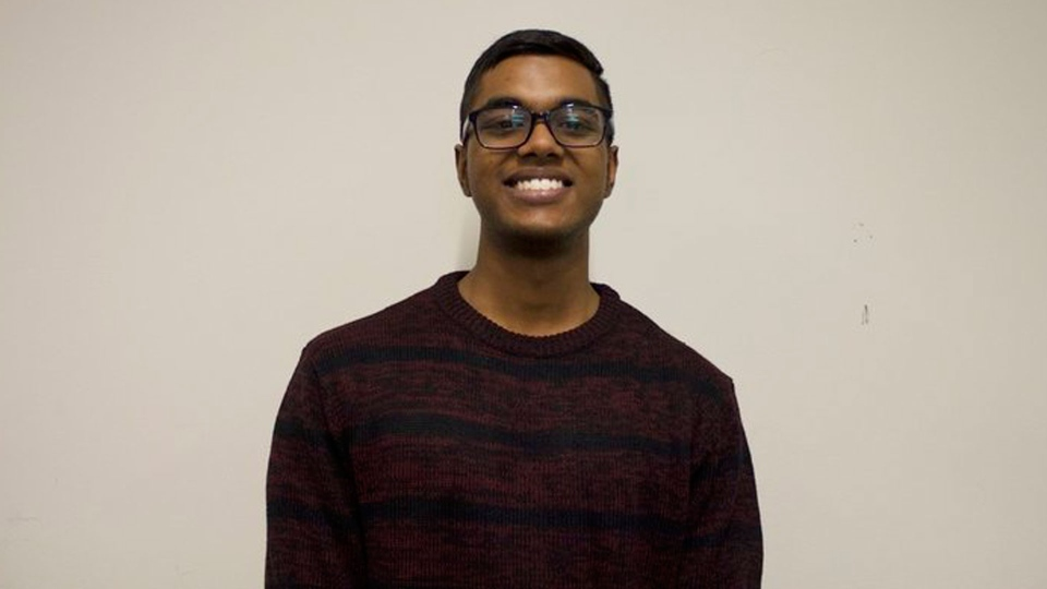 Toronto Police say 21-year-old Venojan Suthesan was fatally shot outside Lester B. Pearson Collegiate Institute in Malvern.