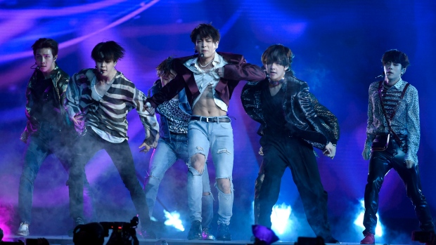 K-pop boy band BTS make history by topping US album charts
