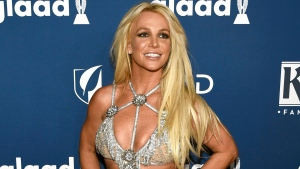 In this April 12, 2018 file photo, Britney Spears arrives at the 29th annual GLAAD Media Awards in Beverly Hills, Calif. (Photo by Chris Pizzello/Invision/AP, File)