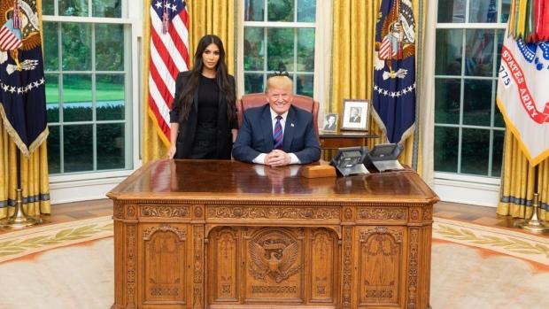 Trump and Kardashian