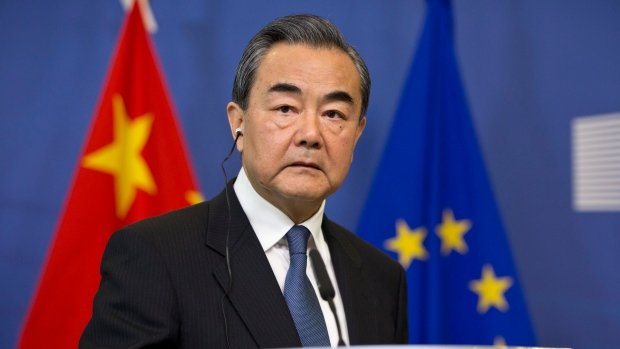 China warns United States  imposing sanctions will void any outcome of trade talks
