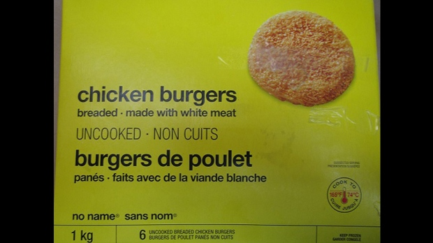 No Name chicken burgers