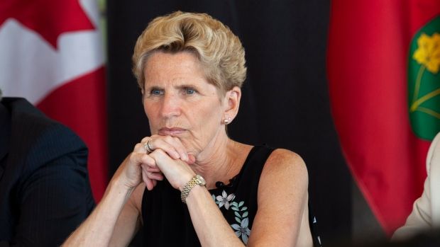 Wynne continues to campaign hard despite predicting loss in Ontario election
