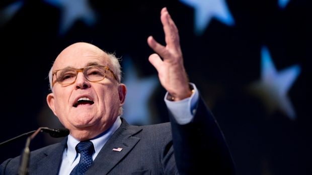 Trump can probably pardon himself, but has no plan to - Giuliani