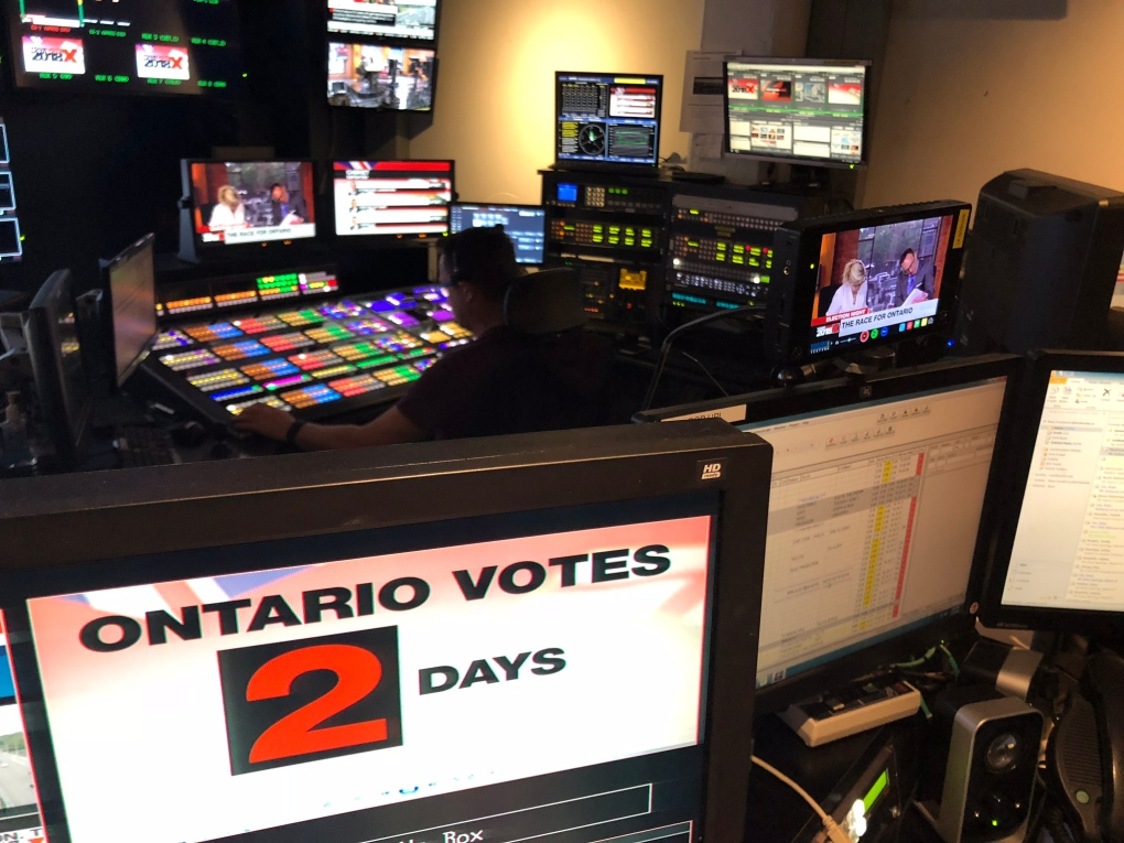 Behind the scenes: CP24 Election Special | CP24.com