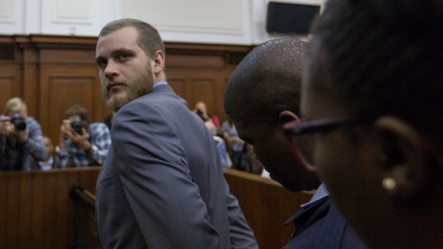 Triple life plus 16 years for axe murderer Henri van Breda