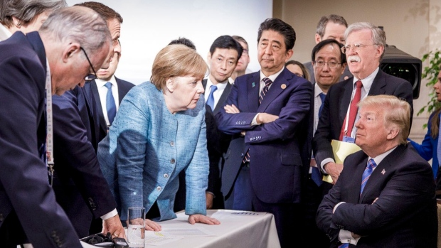Merkel: Trump's Twitter Withdrawal From G-7 Statement 'Sobering' And 'Depressing'