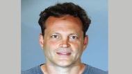In this Sunday, June 10, 2018, booking photo released by the Manhattan Beach Police Department shows actor Vince Vaughn. Vaughn was arrested on suspicion of drunken driving early Sunday at a sobriety checkpoint in the Southern California beach town. Vaughn has since been released from custody. (Manhattan Beach Police Department via AP)