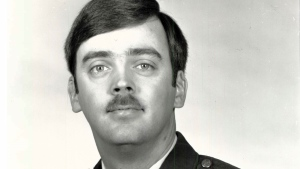 This undated photo released by the U.S. Air Force shows Capt. William Howard Hughes, Jr., who was formally declared a deserter by the Air Force Dec. 9, 1983.  (U.S. Air Force photo via AP)