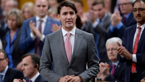 Prime Minister Justin Trudeau rises during Question Period in the House of Commons on Parliament Hill in Ottawa on Tuesday, June 12, 2018. THE CANADIAN PRESS/Justin Tang
