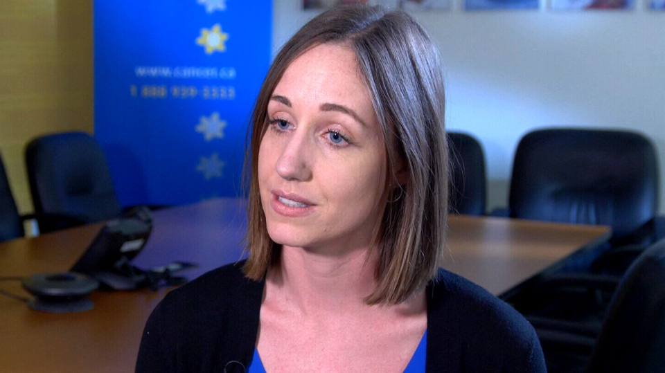 Canadian Cancer Society researcher Leah Smith appears on CTV News.