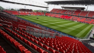 BMO Field in Toronto is pictured on Wednesday, June 13, 2018. THE CANADIAN PRESS/Christopher Katsarov