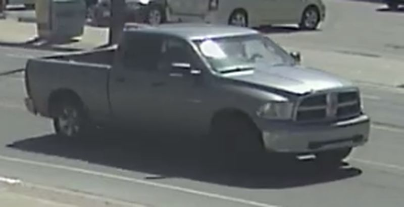 New security camera image of suspect's vehicle in hit-and-run near Briar Hill. (Police handout)