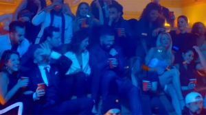 A screenshot of a Drake music video featuring the cast of 'Degrassi' is seen. (YouTube/OVO Sound)