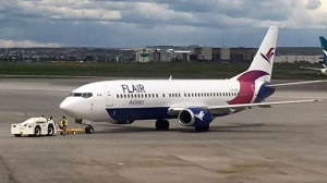 Flair Airlines, based in Kelowna, aims to become the country's third major airline by offering ultra-low cost flights to a number of destinations. (Supplied)
