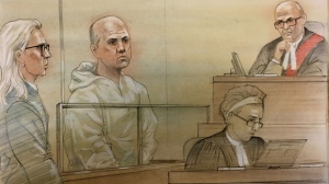 John Reszetnik makes an appearance in a Toronto courtroom in this image from Tuesday June 19, 2018. (John Mantra)
