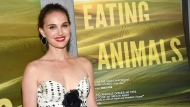 "In this June 14, 2018 file photo, producer Natalie Portman attends a special screening of ""Eating Animals"" at the IFC Center in New York. (Photo by Evan Agostini/Invision/AP, File)"