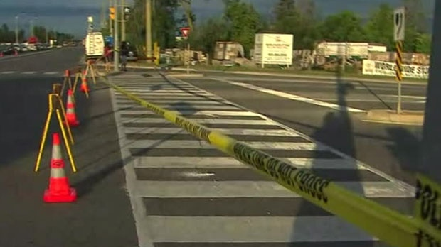 Three males were injured, one critically, after an assault near the border of Peel and Halton regions.
