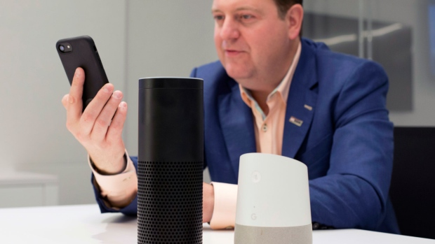 Banking with voice assistants