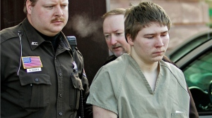 In this March 3, 2006, file photo, Brendan Dassey, is escorted out of a Manitowoc County Circuit courtroom in Manitowoc, Wis. Lawyers for Dassey are hoping the Supreme Court will agree to take his case.  AP Photo/Morry Gash, File)