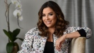 "In this March 6, 2018 file photo, actress-producer Eva Longoria poses for a portrait in Los Angeles. Longoria and her husband Jose ""Pepe"" Baston welcomed Santiago Enrique Baston into the world on Tuesday, June 19. They said they are so grateful ""for this beautiful blessing."" (Photo by Chris Pizzello/Invision/AP, File)"