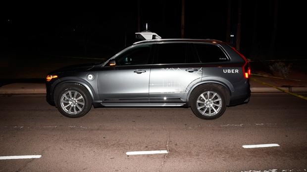 Uber self driving crash