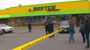 A man has been charged with first-degree murder in a daylight stabbing in Etobicoke.