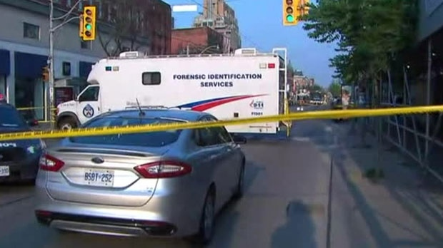 Two people are dead following a shooting near Queen Street West and Peter Street on Saturday night.