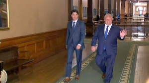 Trudeau and Ford meet