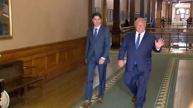 Premiers head to Montreal for tough meeting with Trudeau
