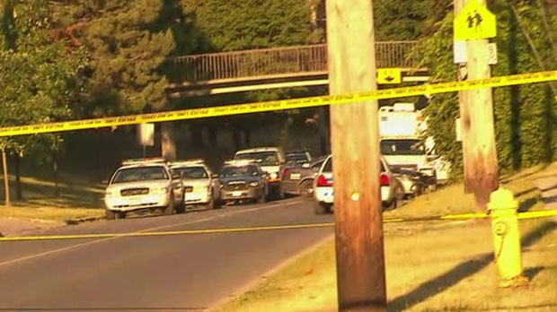 Police are investigating a deadly shooting near Jane Street and Driftwood Avenue on Sunday morning.